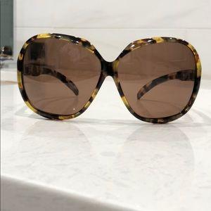 DVB by Victoria Beckham Tortoise Sunglasses